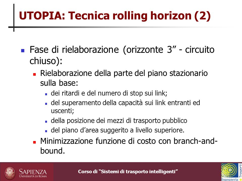 UTOPIA: Tecnica rolling horizon (2)