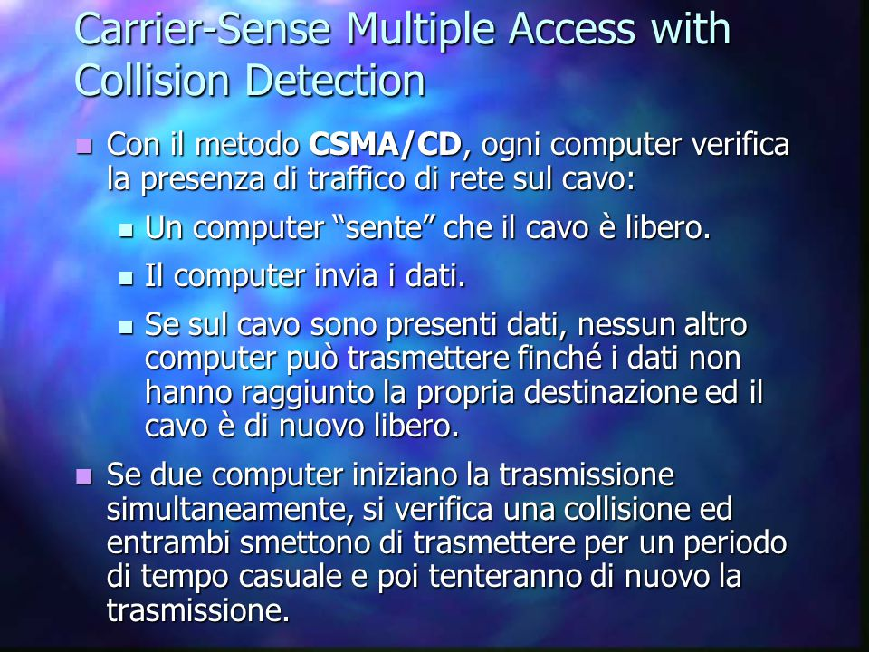 Carrier-Sense Multiple Access with Collision Detection