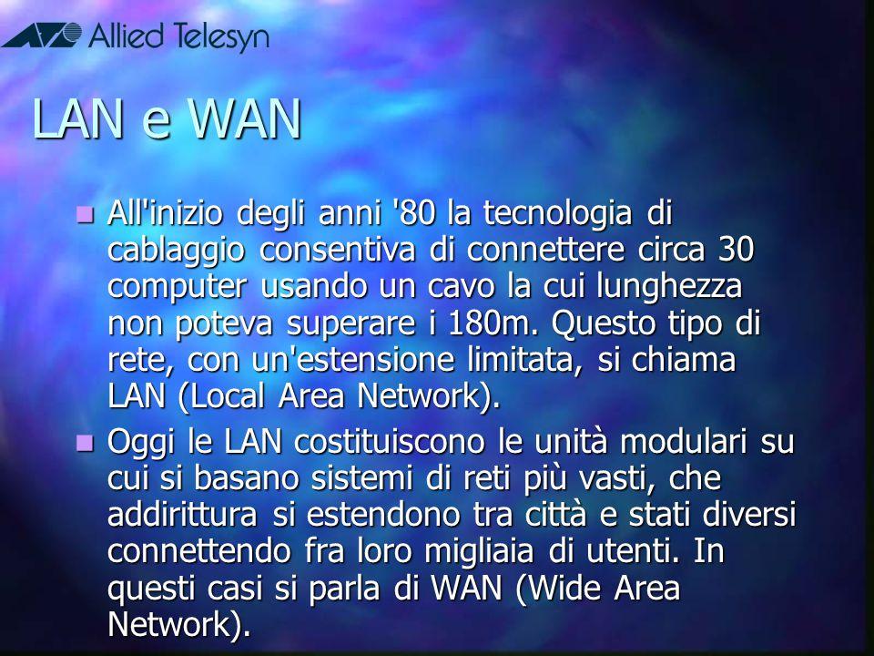 LAN e WAN
