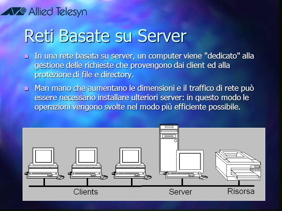 Reti Basate su Server