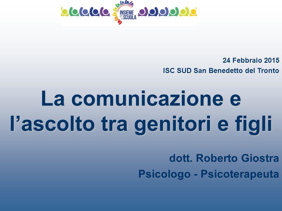 La comunicazione e l'ascolto tra genitori e figli