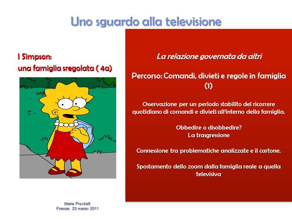 Uno sguardo alla televisione