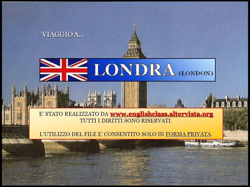 VIAGGIO A… E' STATO REALIZZATO DA www.englishclass.altervista.org