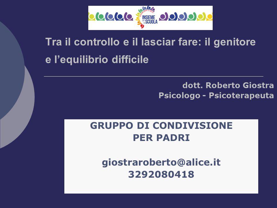 dott. Roberto Giostra Psicologo - Psicoterapeuta