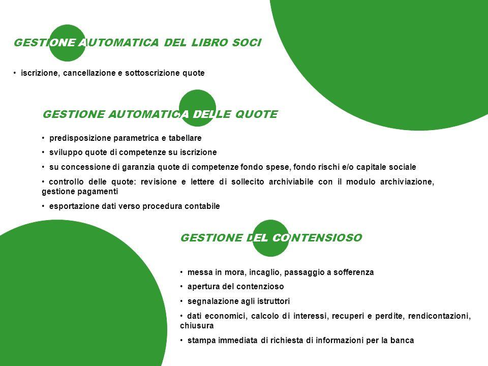 GESTIONE AUTOMATICA DEL LIBRO SOCI ONE A