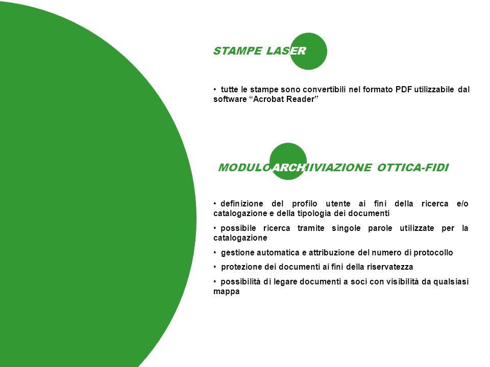 MODULO ARCHIVIAZIONE OTTICA-FIDI