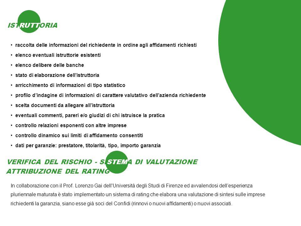 VERIFICA DEL RISCHIO - SISTEMA DI VALUTAZIONE STEM