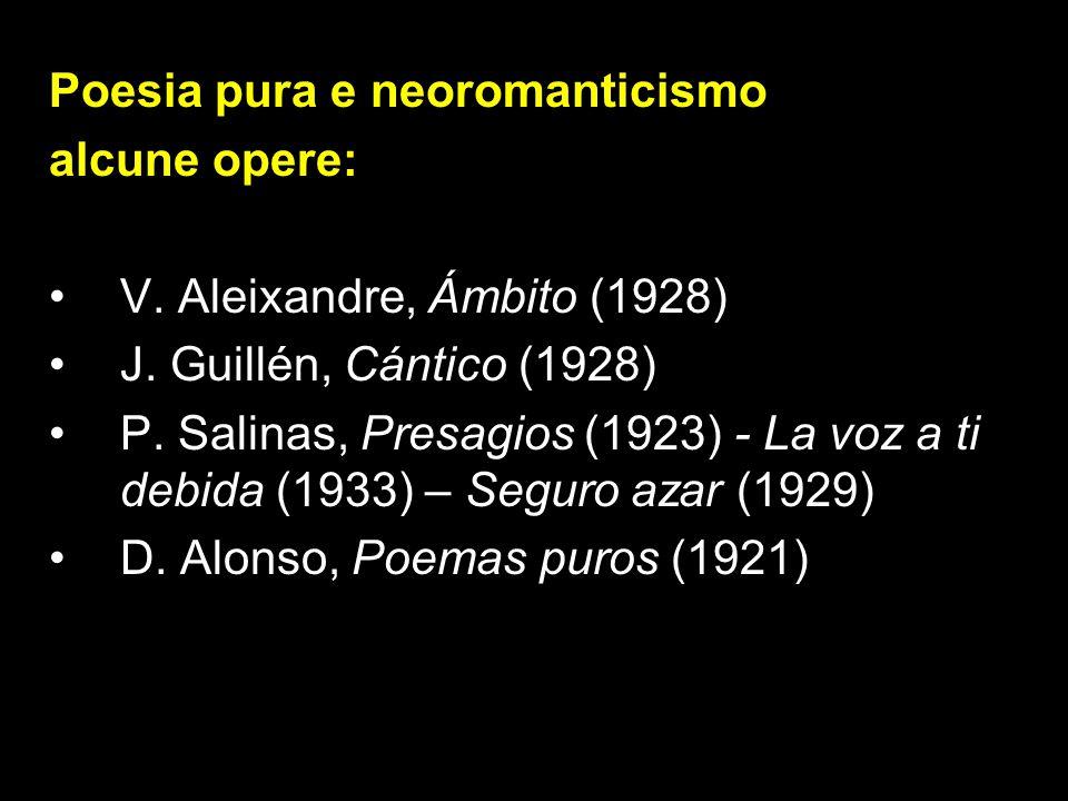 Poesia pura e neoromanticismo