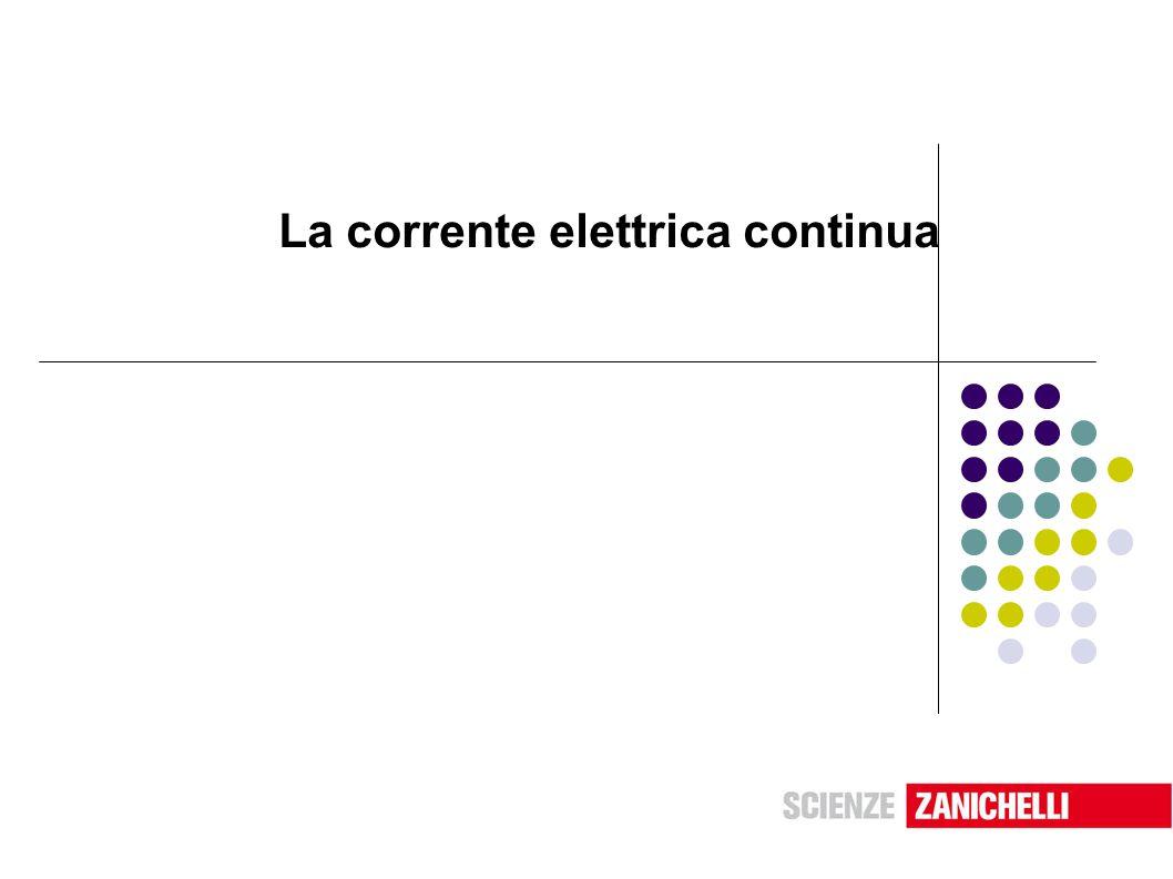 La corrente elettrica continua