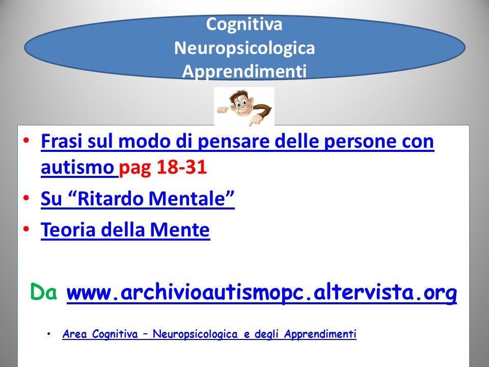 Cognitiva Neuropsicologica Apprendimenti