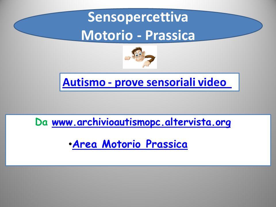 Sensopercettiva Motorio - Prassica