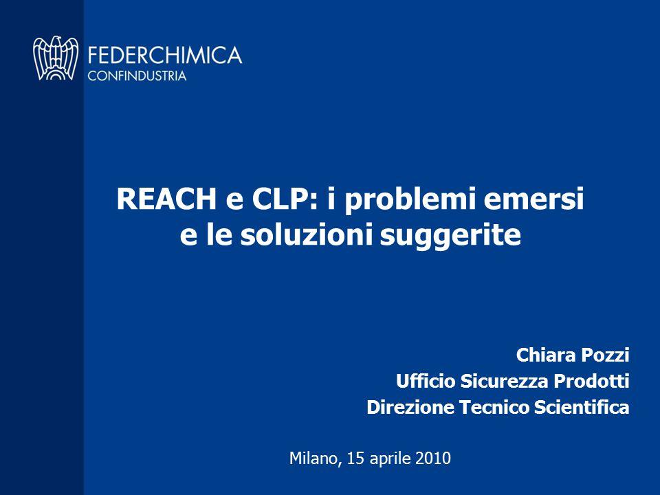 Chiara Pozzi Ufficio Sicurezza Prodotti Direzione Tecnico Scientifica