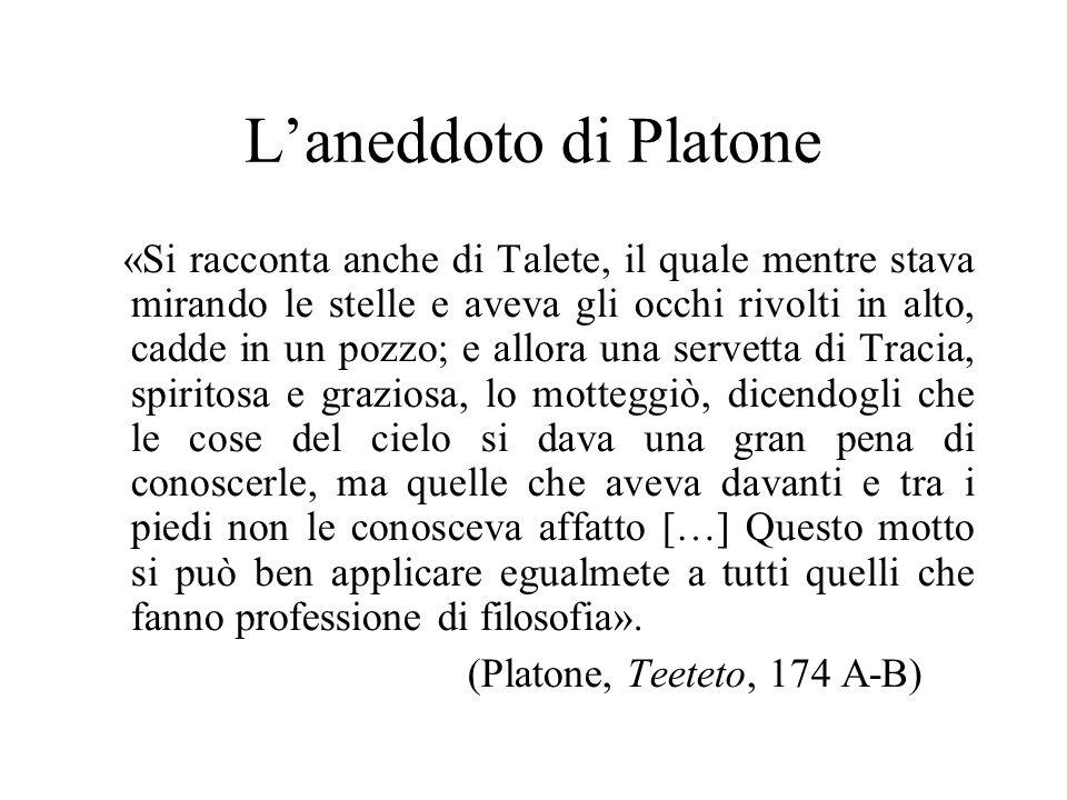 L'aneddoto di Platone