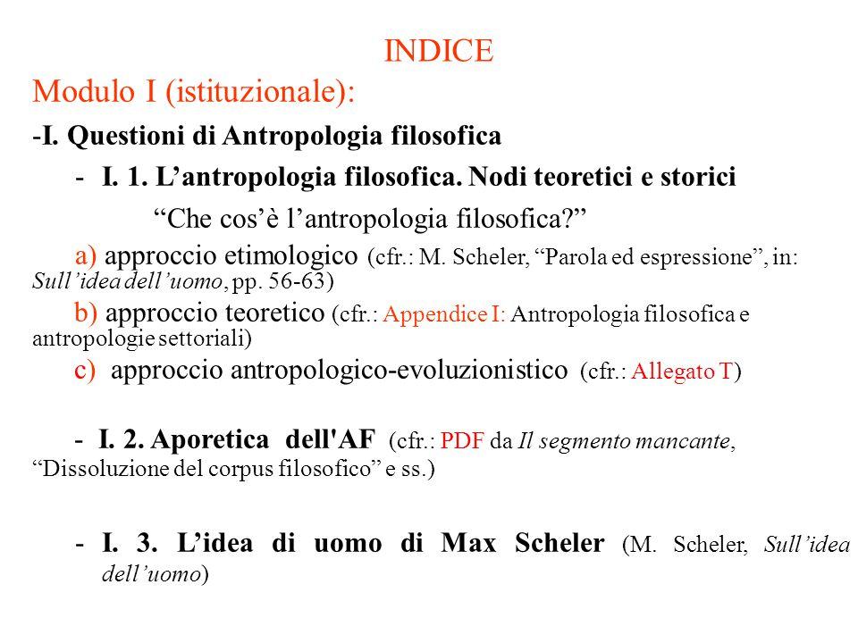 Che cos'è l'antropologia filosofica