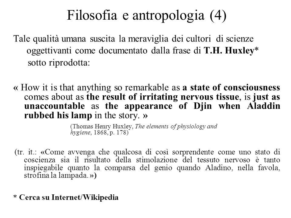 Filosofia e antropologia (4)