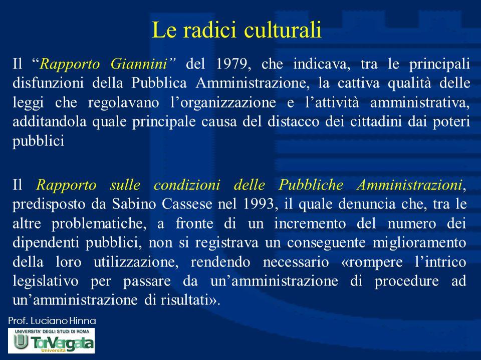 Le radici culturali