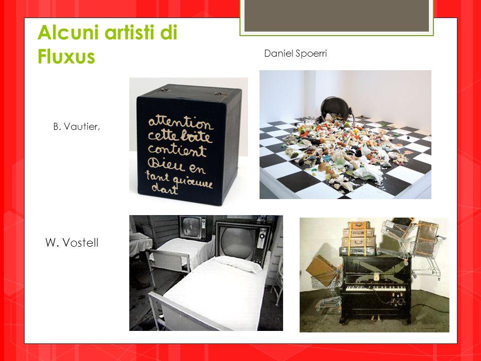 Alcuni artisti di Fluxus