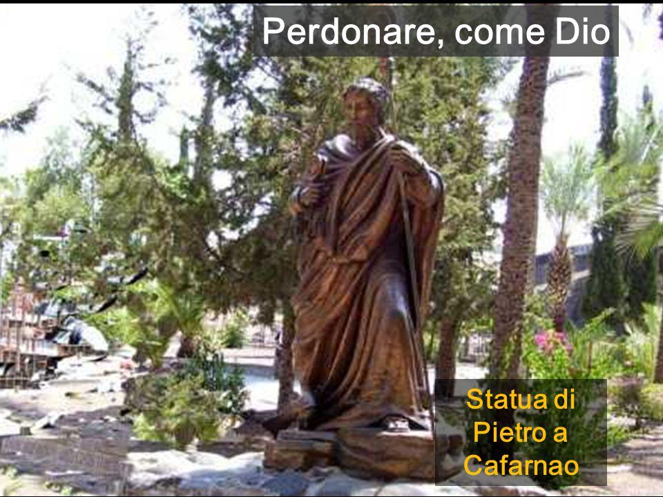 Statua di Pietro a Cafarnao