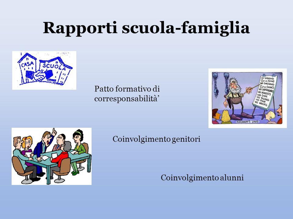 Rapporti scuola-famiglia