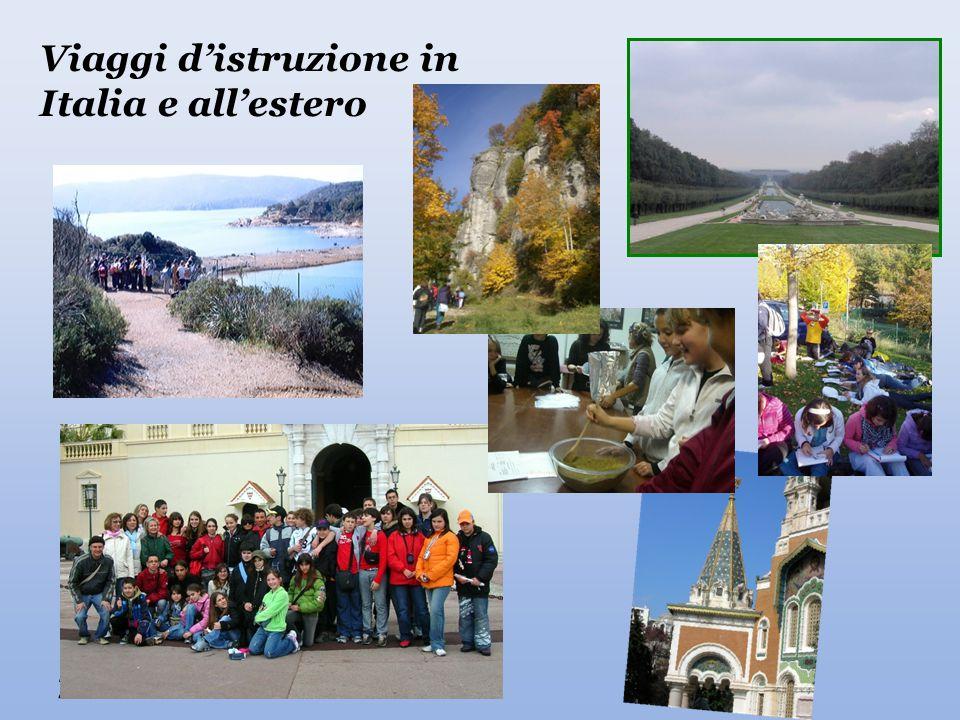 Viaggi d'istruzione in Italia e all'estero