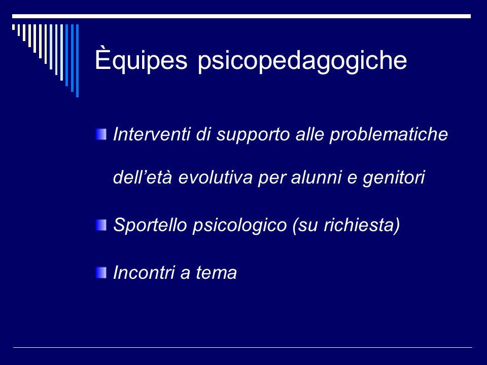 Èquipes psicopedagogiche