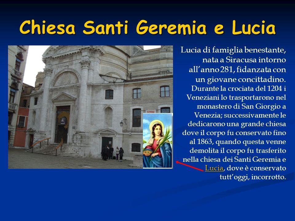 Chiesa Santi Geremia e Lucia