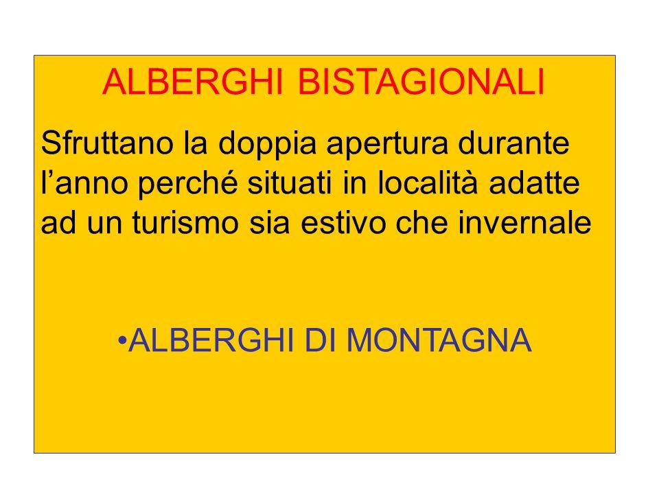 ALBERGHI BISTAGIONALI