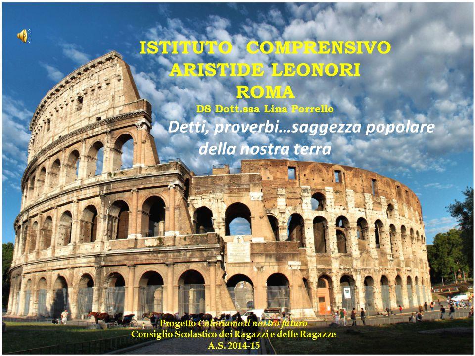 ISTITUTO COMPRENSIVO ARISTIDE LEONORI ROMA