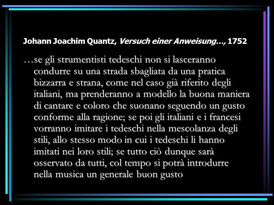 Johann Joachim Quantz, Versuch einer Anweisung…, 1752