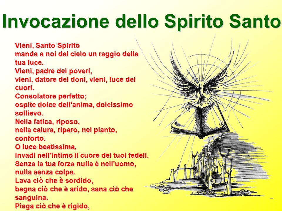 Invocazione dello Spirito Santo