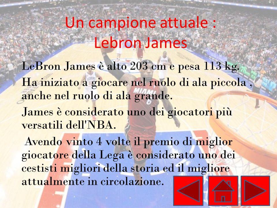 Un campione attuale : Lebron James