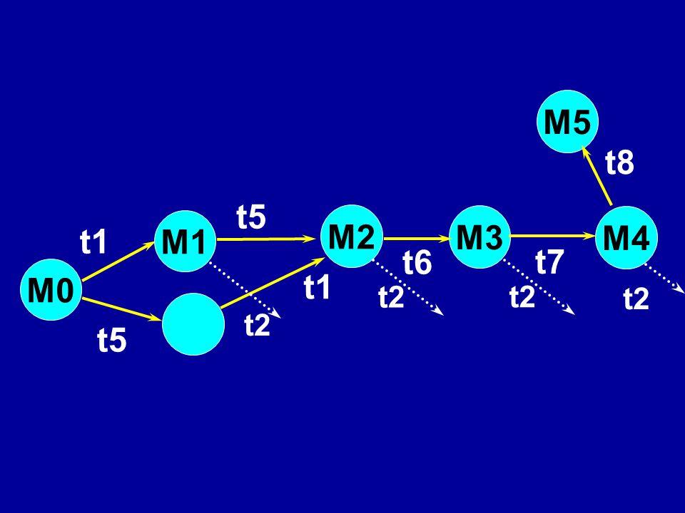 M5 t8 t5 M2 M3 M4 M1 t1 t6 t7 M0 t1 t2 t2 t2 t2 t5