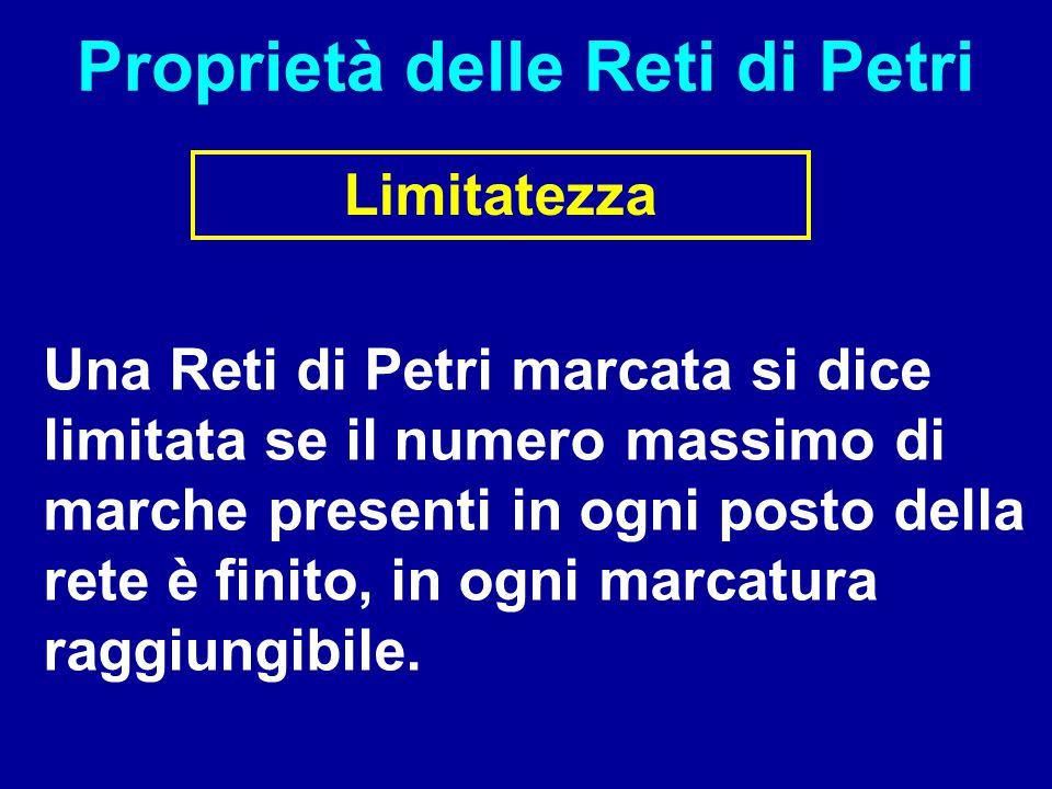 Proprietà delle Reti di Petri