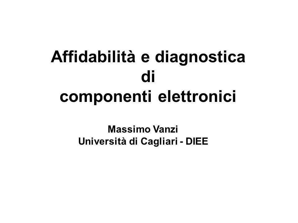 Affidabilità e diagnostica di componenti elettronici