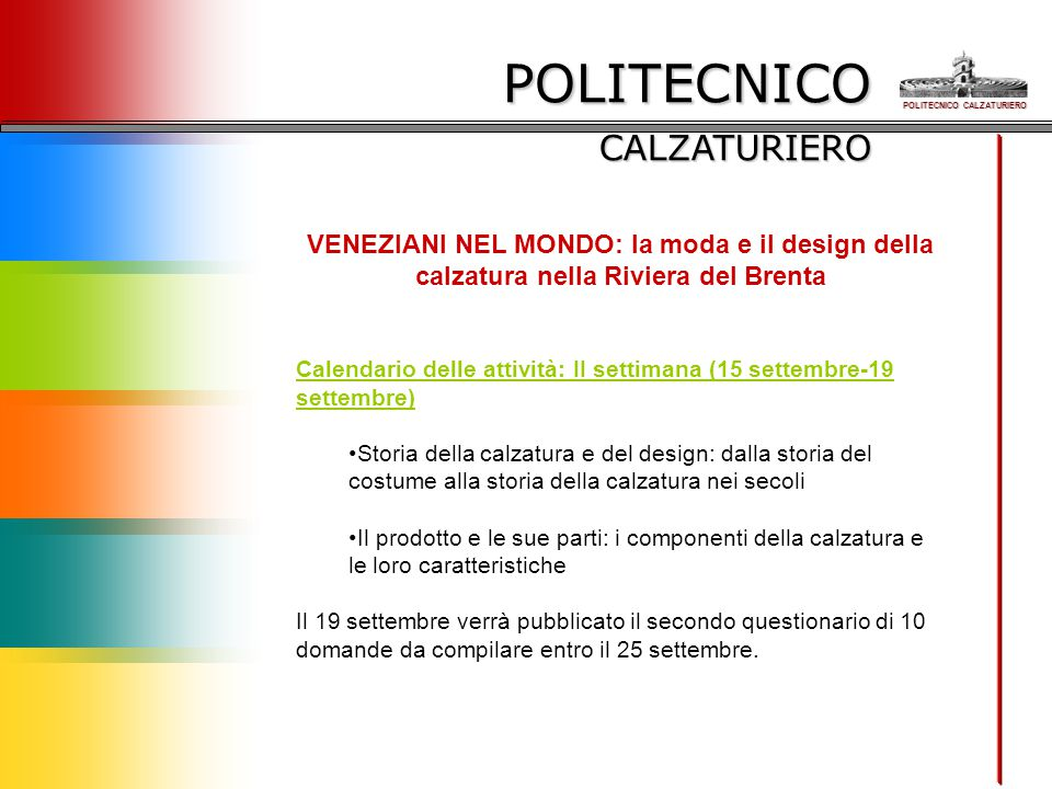 POLITECNICO CALZATURIERO