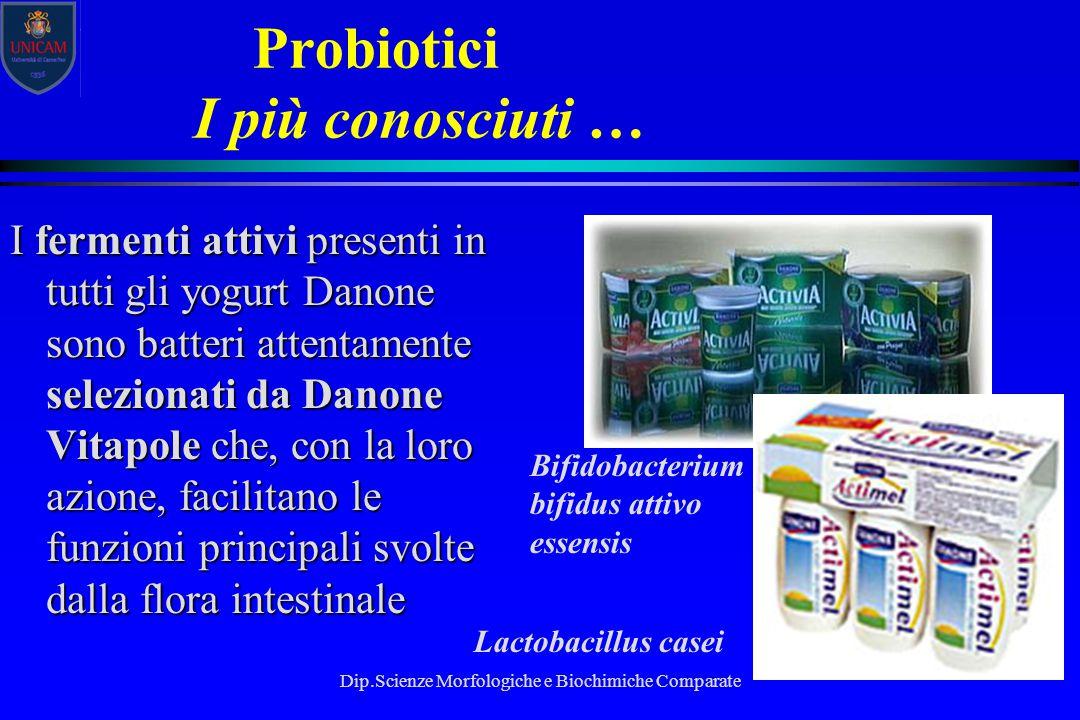 Probiotici I più conosciuti …