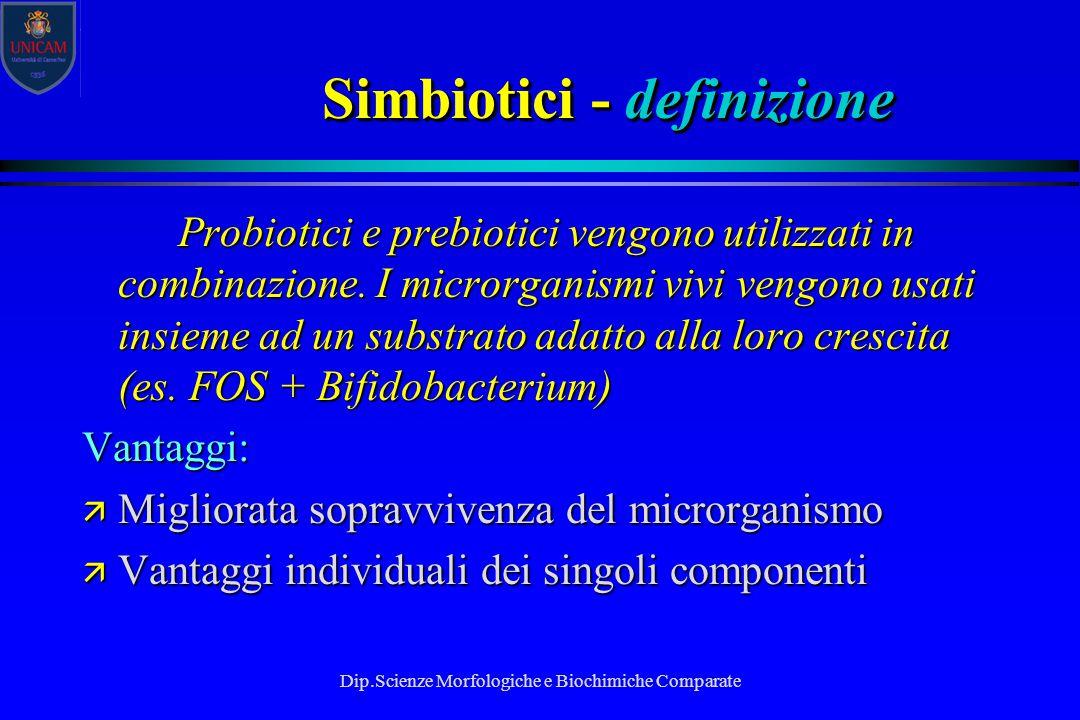 Simbiotici - definizione