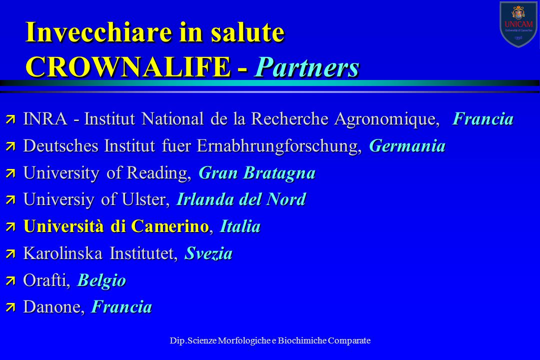 Invecchiare in salute CROWNALIFE - Partners