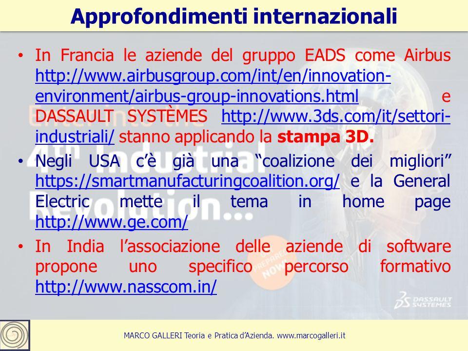 Approfondimenti internazionali