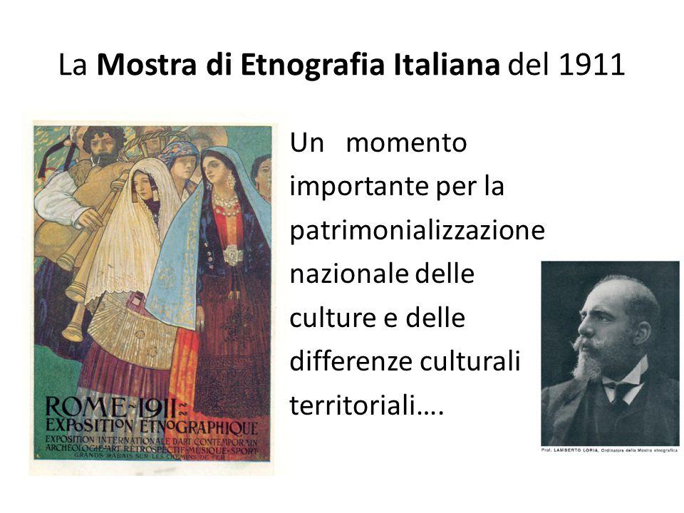 La Mostra di Etnografia Italiana del 1911