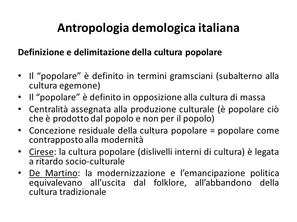 Antropologia demologica italiana