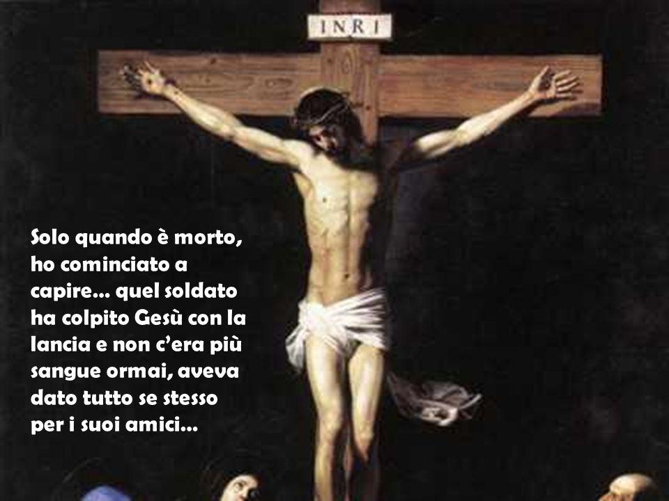 Quando l'hanno condannato, sono salita sulla croce con Lui,