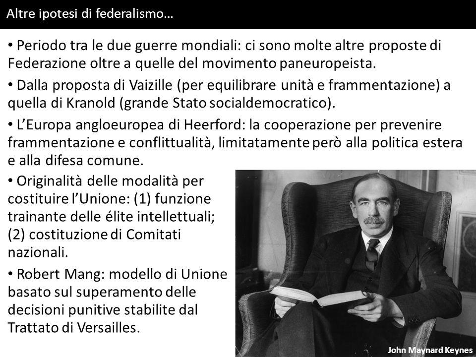 Altre ipotesi di federalismo…