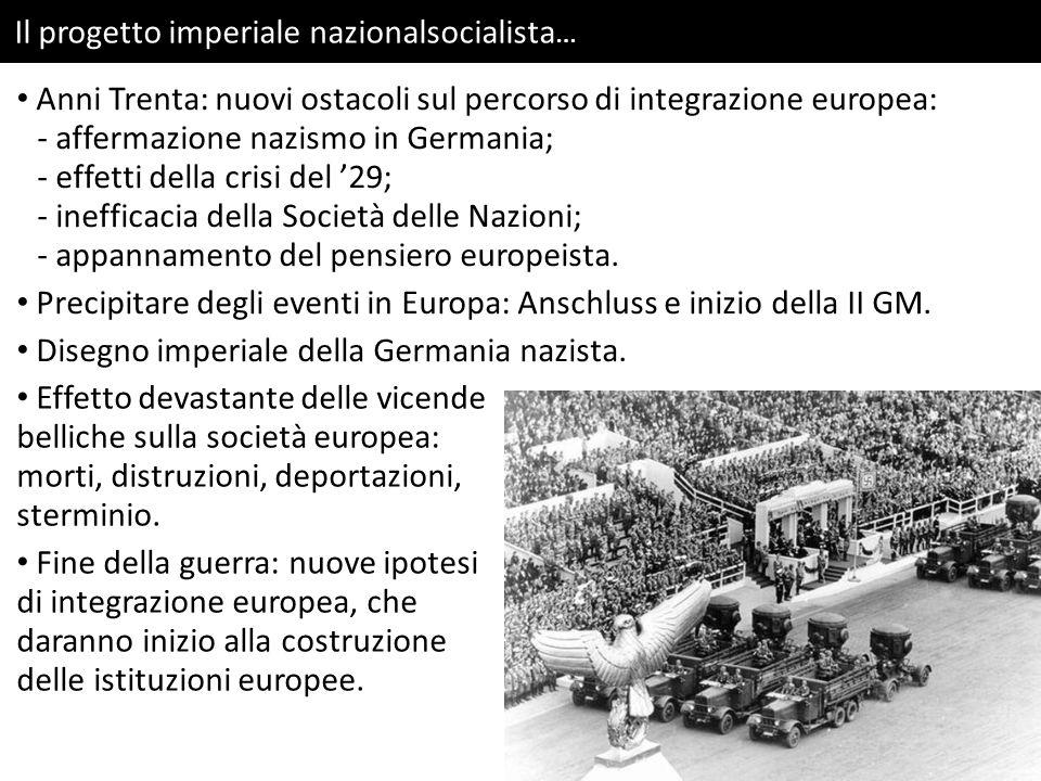 Il progetto imperiale nazionalsocialista…