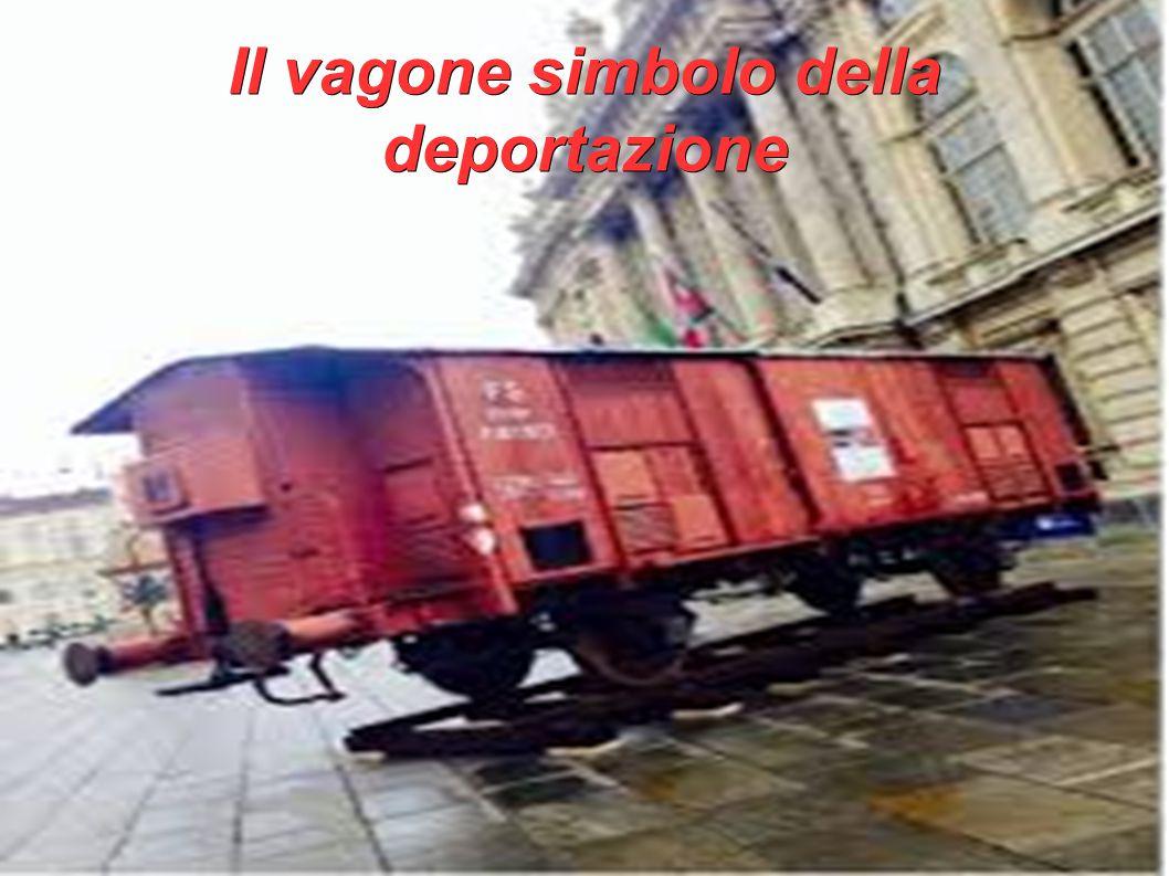Il vagone simbolo della deportazione