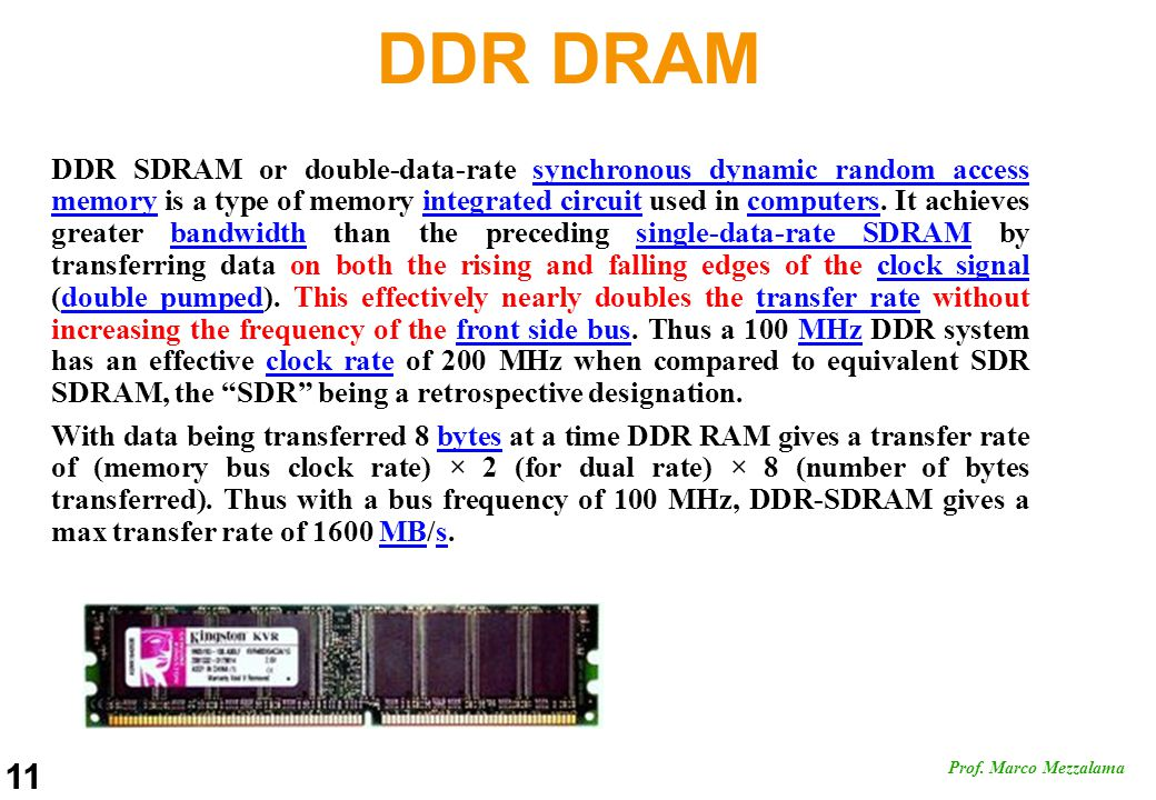 DDR DRAM