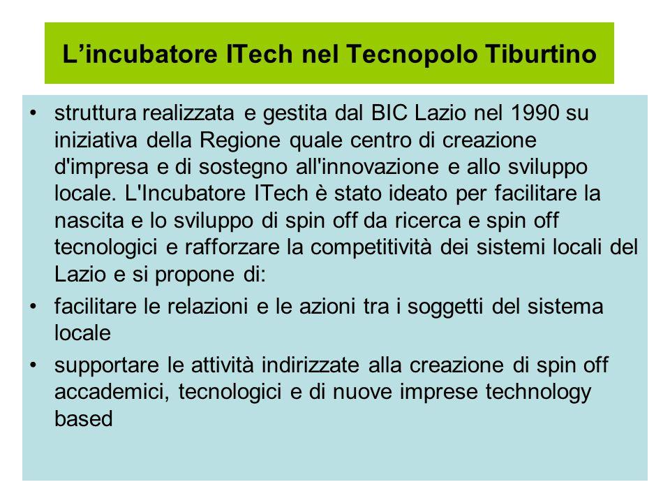 L'incubatore ITech nel Tecnopolo Tiburtino