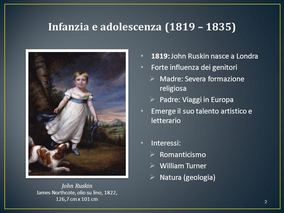 Infanzia e adolescenza (1819 – 1835)