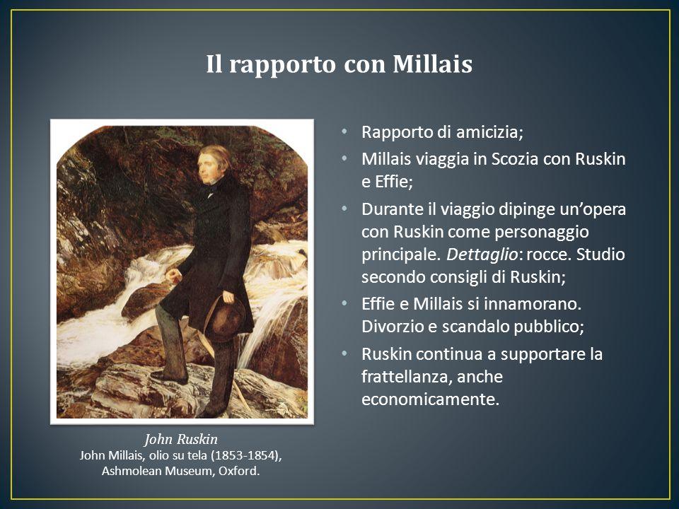 Il rapporto con Millais