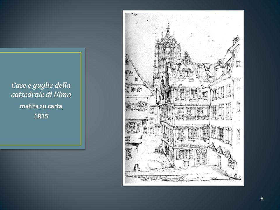 Case e guglie della cattedrale di Ulma